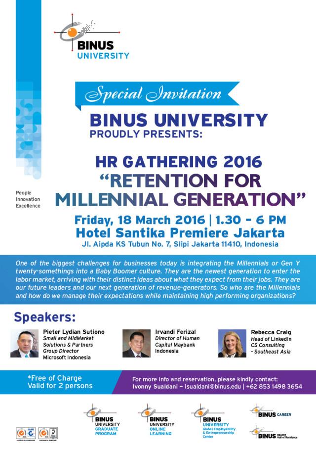 HR Gathering Invitation