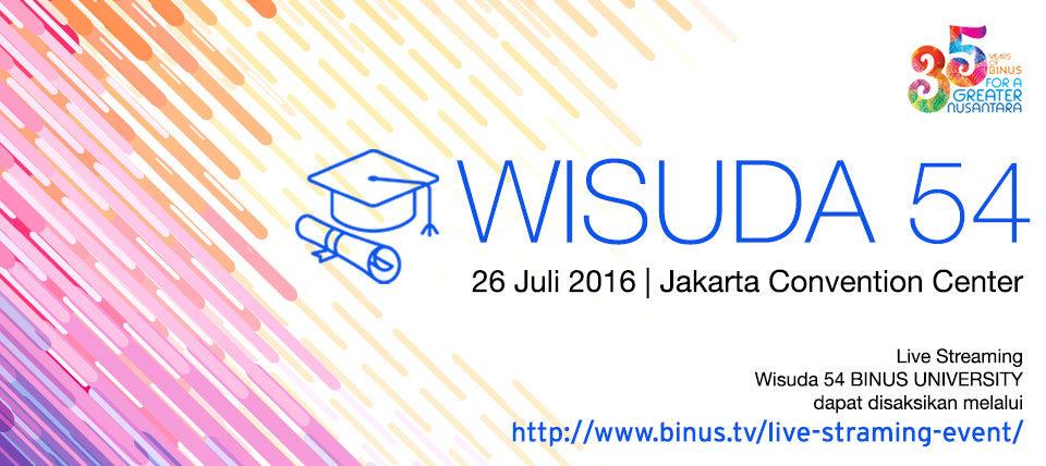 WISUDA KE-54: BINUS UNIVERSITY GENAP MEMPERSEMBAHKAN 92.934 ALUMNI UNTUK BANGSA INDONESIA DAN DUNIA